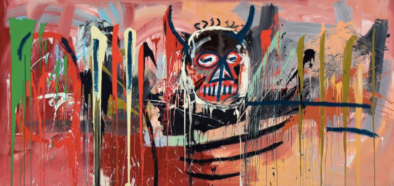 Painting by Basquiat. Where is My Father by Danielle James on Two or More.
