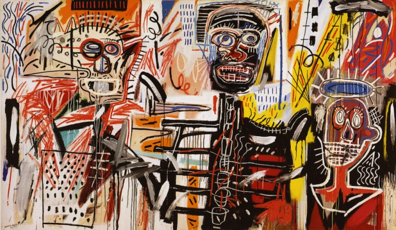 Art work by Basquiat | Two or More by Danielle James